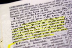 Phillipians 4:6,7 - peace of God that excels all thoughts will safeguard your heart..