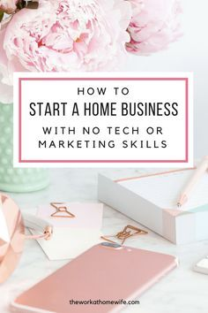Starting a business from home is something that lots of my readers are interested in, but there's one major block to getting started: not having the technical skills to pull it off. Here's help!