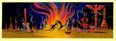 Mary Blair- concept art from Peter Pan