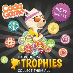 The NEW VERSION of Coda Game is now available on the App Store an Google Play Store Can you get all the cool TROPHIES?  #codagame #codingforkids #gameoftheday #trophies by codarica