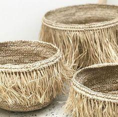 home decor inspiration Sisal, Home Decor Baskets, Basket Decoration, Raffia Craf.You can find inspiration and more on our we. Sisal, Home Decor Baskets, Basket Decoration, Rattan Lampe, Raffia Crafts, Basket Bag, Boho Diy, Home And Deco, Crochet Designs
