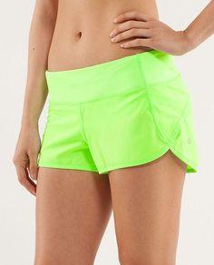 Zippy Green Speed Shorts