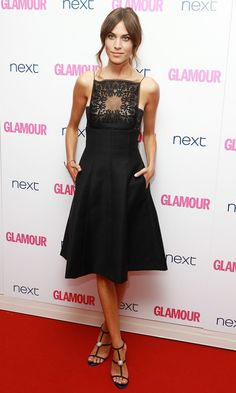 Alexa Chung in Christian Dior dress for The Glamour Women of the Year Awards Celebrity Dresses, Celebrity Style, Christian Dior Dress, Alexa Chung Style, Cooler Look, Dress Vestidos, Look Fashion, Fashion Design, Glamour