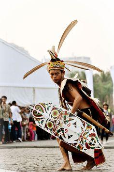 Dayak Dance. #dayak #dance #kalimantan #indonesia