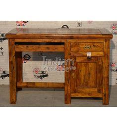 #Indyjskie drewniane #biurko Model: AB-119 dostępna tylko @ 1,200 zł. Kup teraz @ http://goo.gl/usuUNf