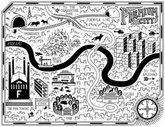 Wild Trilogy Maps, published by Quercus, by Tom Flintham
