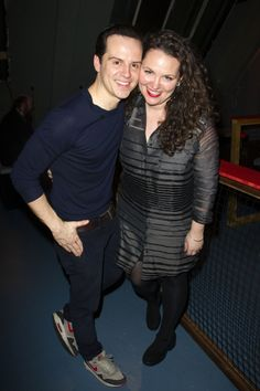 Andrew Scott and his sister Hannah celebrate The Dazzle opening night - WhatsOnStage.com
