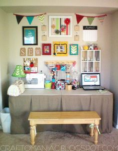 """#craft room #organization ideas"" #furniture #painting #craftroom #inspiration"