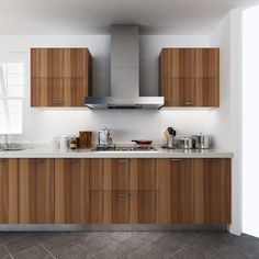 Charmant Kitchen Cabinets, Wood Grain, Melamine, OP14 M08