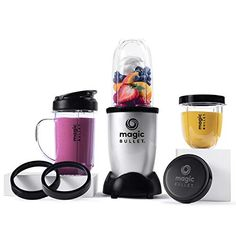 NutriBullet The Magic Bullet Countertop Blender Color: Black Magic Bullet, Mini Blender, Portable Blender, Blender Bullet, Juice Blender, How To Make Smoothies, Good Smoothies, Protein Smoothies, Fruit Smoothies
