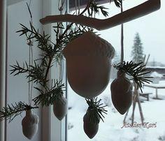 Atelier Kari naturdekorasjoner og kranser: Karis Julekalender - Luke 16