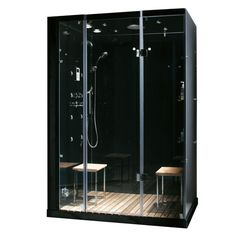 Modern, Stylish Steam & Shower Enclosure With Multi Body Massage Water Jets, Radio & Aromatherapy
