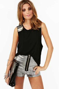 Safety Pin Muscle Tee