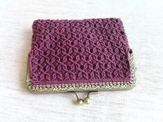 Macramé Purse by SeaFrills on Etsy