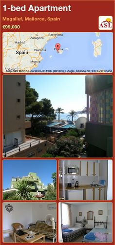1-bed Apartment in Magalluf, Mallorca, Spain ►€99,000 #PropertyForSaleInSpain