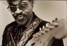 The Godfather of Go-Go, the late great Chuck Brown.... R.I.P.