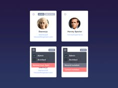 Team Cards by Jan Dvořák for Apiary