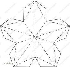 Шаблон контура звезды из бумаги для вырезания: трафарет скачать и распечатать