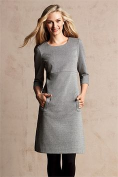 Dresses - Capture Ponti Shift Dress