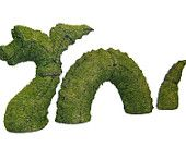 Living in Edward Scissorhands Collection - Etsy Treasury- Loc Ness Monster   (Nessie) 1st stop... Topiary