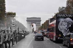 Fantasmas de la Guerra es una serie de extraordinarias imágenes que superponen escenas modernas, con fotografías tomadas en el mismo lugar durante la II guerra mundial