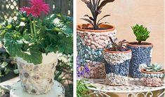 Ako vdýchnuť nový život kvetináčom - Ostatné - Majstrovanie | Hobby portál