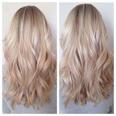 white honey hair