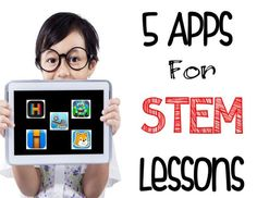5 STEM APPS for the Elementary Classroom is part of Stem Apps For The Elementary Classroom Sweet Integrations - I've shared 5 apps that will help you in teaching STEM in the upper elementary classroom Stem Learning, Blended Learning, Project Based Learning, Kids Learning, Stem Science, Teaching Science, Stem Classes, Stem Projects, Thing 1