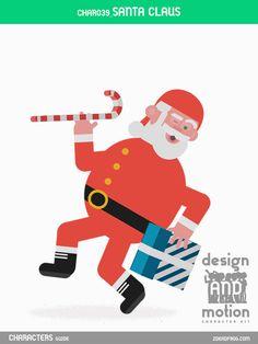 CHAR039_Santa Claus. Part of D&M Character Kit.