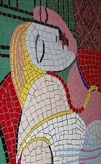 Picasso mosaic
