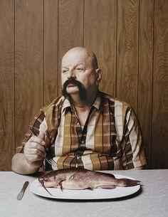 Des portraits avec des poissons gens poissons 04 photographie bonus art