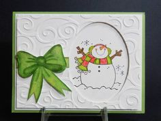 F4A150 QFTD146 Snowman by jandjccc - Cards and Paper Crafts at Splitcoaststampers
