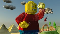 LEGO Worlds: Console Announce Trailer (PS4 Xbox One)