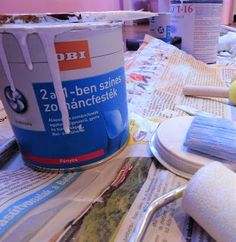 Bútorfestés 1. rész - ingyenes online tanfolyam kezdőknek Painting Tips, Painting Techniques, Retro Furniture Makeover, Painted Furniture, Diy Furniture, Thing 1, Drink Bottles, Decoupage, Diy And Crafts