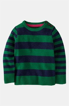 Mini Boden 'Chunky' Sweater (Toddler) available at #Nordstrom
