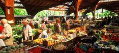 Brive La Gaillarde, France  The market  Le marché