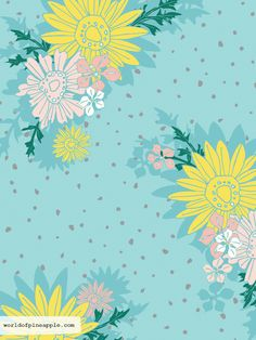 Surface Pattern Design | PINEAPPLE Studio by Noa Ambar-Regev #textiledesign #patterndesign