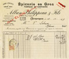 Free Vintage Image ~ French Receipt