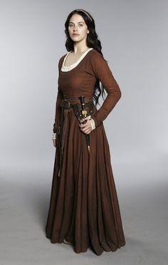 Medieval/fantasy gown. Katie McGrath in Labyrinth (2012)