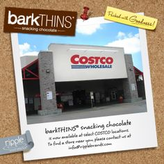 Check out our #facebook page to find #barkTHINS in a store near you! https://www.facebook.com/media/set/?set=a.318520844939227.1073741834.193095964148383&type=1 … #snackingchocolate #nongmo #fairtrade #Costco #chocolate