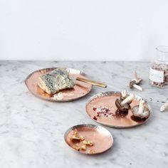 Delicate Copper Plate