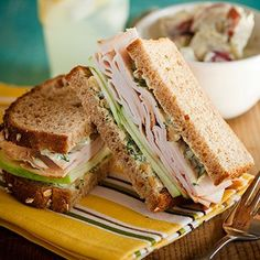 Curried Turkey, Apple, and Watercress Sandwich Recipe - Woman's Day
