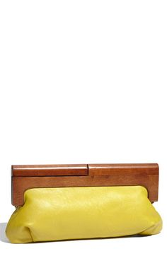 Melie Bianco 'Adele' Faux Leather Clutch available at #Nordstrom