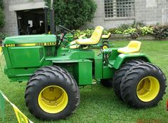 John Deere 420 Garden Tractor | ... Have Any Info On This Articulated John Deere 420 Garden Tractor