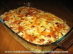 Dutch Recipes, Oven Recipes, Easy Dinner Recipes, Cooking Recipes, Oven Dishes, Fish And Meat, Asian Cooking, Vegetable Dishes, No Cook Meals