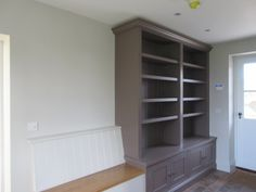 Symes Interiors specialise in bespoke kitchens and joinery, fine interiors and renovation works. Helping our clients create a beautiful home. Tall Cabinet Storage, Storage Shelving, Shelves, Bespoke Kitchens, Joinery, Beautiful Homes, Bookcase, Wall Units, Surrey