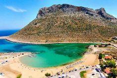 Stavros beach, Crete, Greece