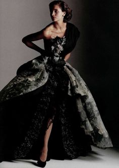 Christian Dior by Gianfranco Ferré   Fall 1989 Couture