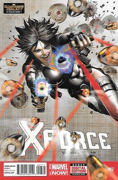X-Force # 7 Marvel Now ! Vol 4 ( 2014 )