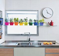 blog de decoração - Arquitrecos: Horta na cozinha - Faça Você Mesmo!!